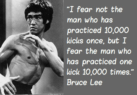 Speak Your Mind Cancel replyBruce Lee Quotes On Practice